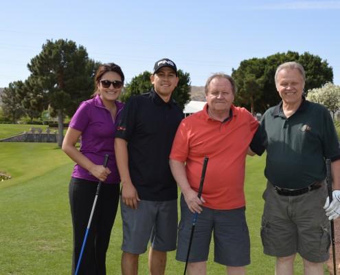 Mr. & Mrs. Quintana, Donald & Raymond Verosky