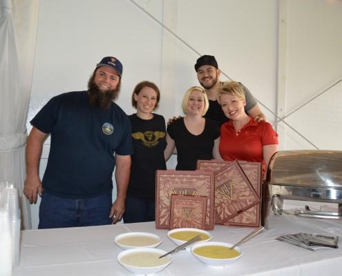 Nikki, GM of BJ's Brewery & her fabulous crew!