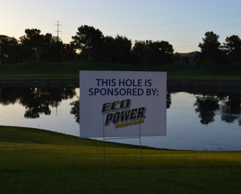 Thank You Eco Power Hole Sponsor