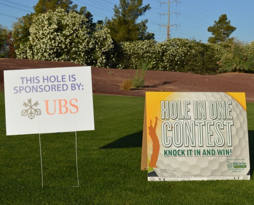 Thank You UBS Hole In One Sponsor